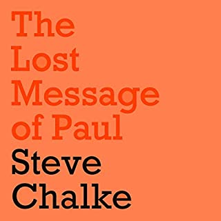 The Lost Message of Paul audiobook cover art