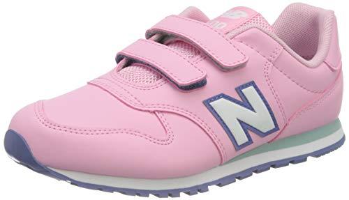 New Balance 500 YV500RPT Medium, Zapatillas Niñas, Pink (Candy Pink RPT), 35 EU