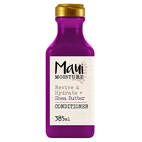 Maui Moisture Revive & Hydrate Shea Butter Aloe Vera Conditioner, für trockenes geschädigtes Haar, 385 ml