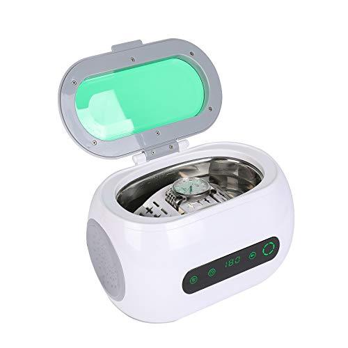 UROK 600ml Pulitore Ad Ultrasuoni Display Digitale 35W Lavatrice Ad Ultrasuoni Portatile Ultrasuoni Bagno Ultrasuoni Dispositivo Con Timer Digitale 600ml