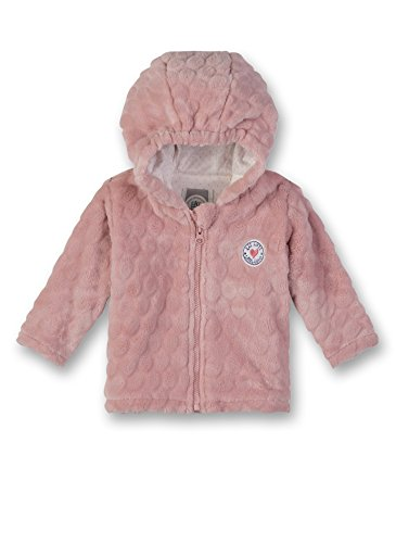 Sanetta Baby-Mädchen Outdoorjacket Jacke, Rosa (Vintage Rose 3897.0), 74