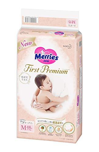【テープ Mサイズ】メリーズ ファーストプレミアム (6~11kg) 48枚 2倍やわらかカシミヤタッチ