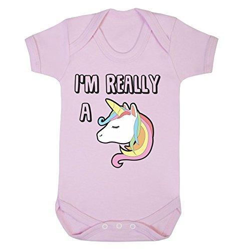 Reality Glitch Baby Mädchen (0-24 Monate) Spieler Gr. 56, Rose