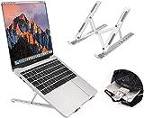 """Supporto PC Portatile, Angolazione Regolabile Portatile Pieghevole PC Stand, Alluminio Ventilato Supporto per MacBook/PRO/MacBook Air/iPad Laptop/Huawei Matebook D/HP/Altri 10-15.6"""" Laptop Tablet iPad"""