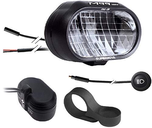 SUPER NOVA Supernova M99 Mini Pro 25 E-Bike Frontlicht Black 2020 Fahrradbeleuchtung