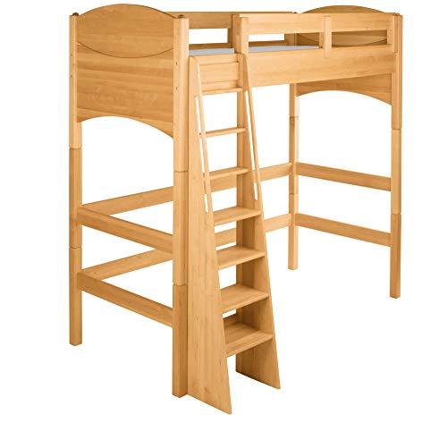BioKinder 22728 Noah economy set kinderzolderbed van massief houten elzenhout 90 x 200 cm