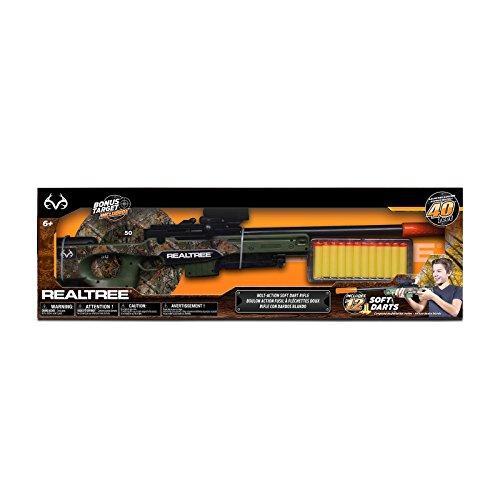 NKOK Realtree Bolt Action Soft Dart Rifle
