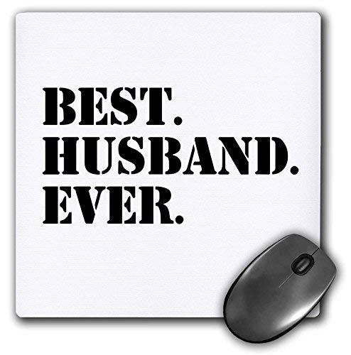 Gaming Mouse Pad für Notepad Bester Ehemann aller Zeiten Romantisch Verheiratet Verheiratet Liebesgeschenke Für Ihn Zum Jubiläum oder Valentinstag Rutschfeste Gummi Schul Schreibtisch Dekor Mauspad fü