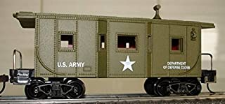 Model Power 99165 Caboose US Army #3455 HO