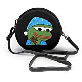 Bedtime Pepe - Borsa a tracolla Sleepo Peepo in pelle, piccolo spettacoloBorsa lder, borsa ultraleggera, borsa a tracolla lavabile, per donna