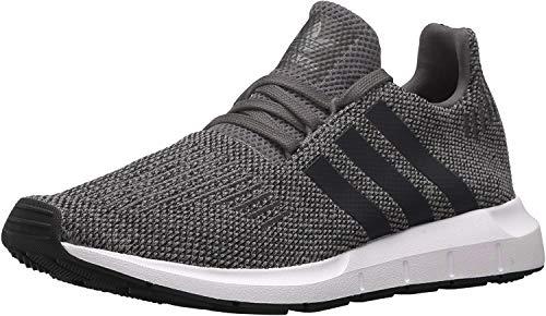 adidas Originals Men's Swift Running Shoe, Grey/Black/White, 10.5 M US