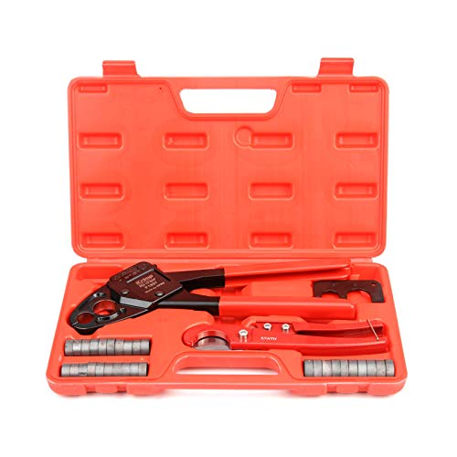 IWISS F1807 Angle Head Combo Crimping Tool for Pex