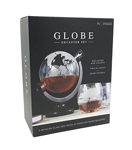Globe Decanter con set di bicchieri