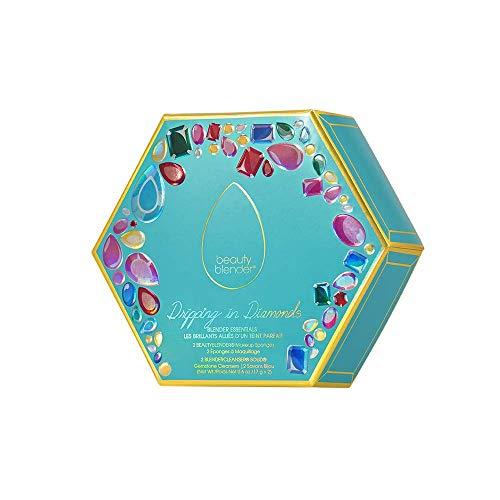 BEAUTYBLENDER Dripping in Diamonds Blender Essentials, Makeup Blender Sponges & Blendercleansers, Limited Edition Set