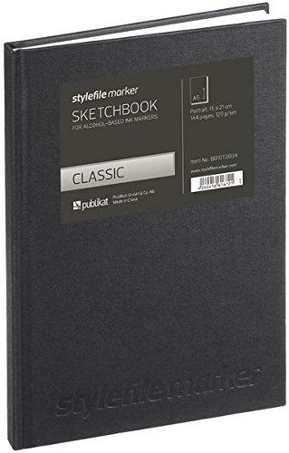 Stylefile Marker Classic Skizzenbuch Din A5 vertikal