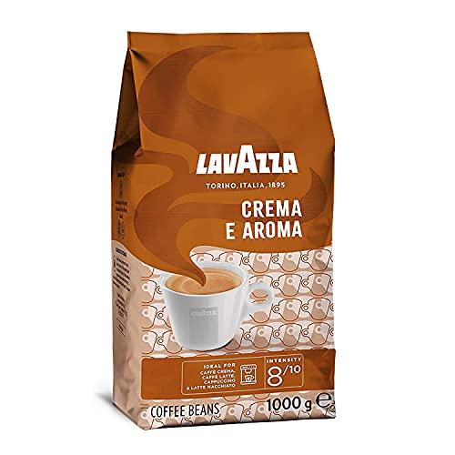 Lavazza Caffè Crema e Aroma, 1 kg-Packung, Arabica und Robusta, Mittlere Röstung