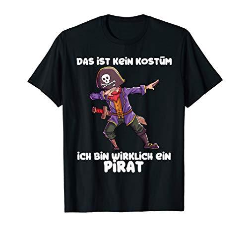 Piraten Kostüm Kinder Jungen Fasching Verkleidung Pirat T-Shirt