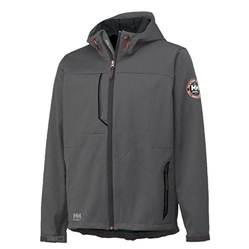 HellyHansen softshell jack waterafstotend met fleece binnenin Leon Jacket 74012 Gr. XXXL grijs