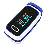 Pulse Oximeter Fingertip Blood Oxygen Saturation Monitor Your Pulse Rate and SPO2 Portable