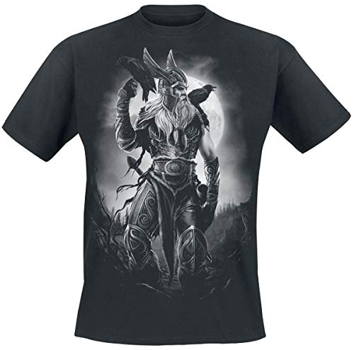 Toxic Angel Odin Camiseta Negro M
