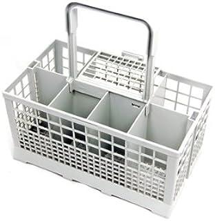 Spares4appliances - Cesto universal portacubiertos para lavavajillas, compatible con modelos Carrera, Eurotech, Homark, Le...