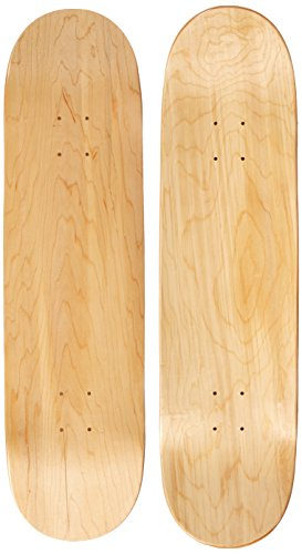 Moose Blank 8.25' Skateboard Deck (Natural)