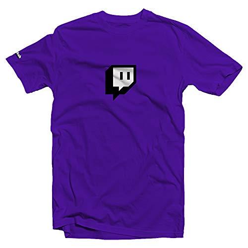 Twitch Kern Glitch Tee - Purple (XX-Large)