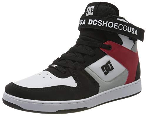 DC Shoes Pensford, Zapatillas Hombre, Black/Grey/Red, 40 EU
