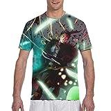 Comfortable Black Clover Zenon Anime Men's T Shirt,Men's Short Sleeve T-Shirt,Crew Neck T-ShirtforMen,Teen Tee