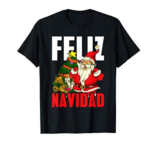 Idea De Regalo De Papá Noel Feliz Navidad Santa Claus Camiseta