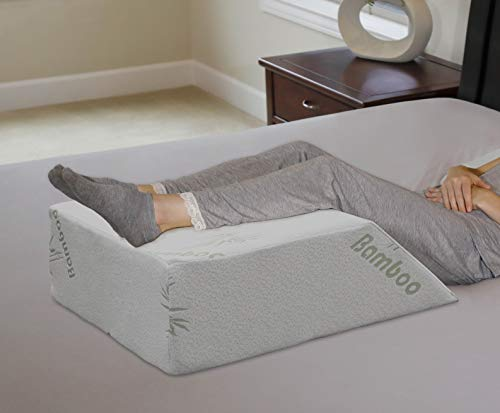 InteVision Ortho Bed Wedge Pillow with a, Removable Cover (8