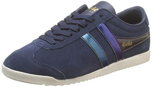 Gola Damen Bullet Flash Sneaker, Blau (Navy/Multi Ez), 40 EU