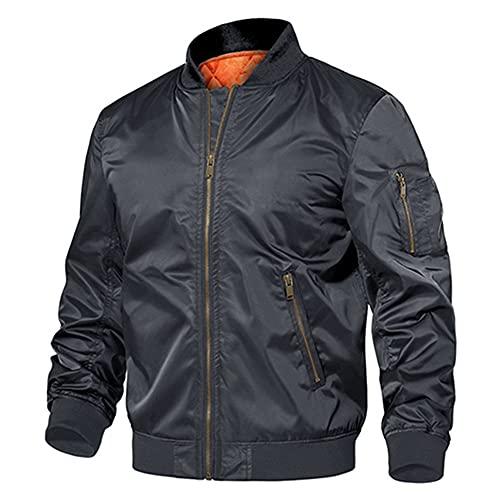 Chaqueta militar de invierno Outwear para hombre de algodón acolchado Pilot Army Bomber Jacket