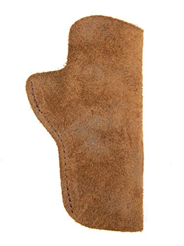 FHL 1911_Kimber Ultra CDP II 45 Leather Suede Holster_IWB_Brown_RH_LH_USA (Left Brown)
