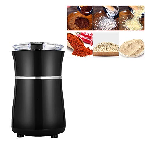 Elektrische Kegelmühlen,Einstellbare Dicke elektrische kaffeemühle kegelmahlwerk,leicht zu lagern,elektrisch Scheibenmahlwerk mit Sicherheitsverschluss für Kaffeebohnen Nüsse Gewürze