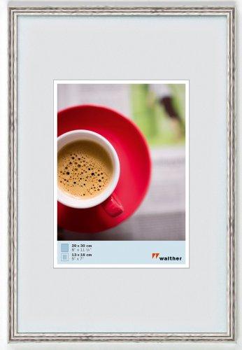 Walther KY835H Galeria kunststof lijst 28 x 35 cm zilver/zwart