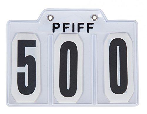 PFIFF Falt-Kopfnummern mit Klettverschluss
