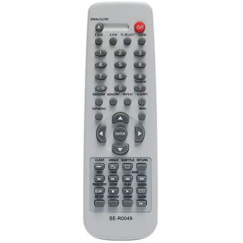 ALLIMITY SE-R0049 Fernbedienung Ersetzen für Toshiba DVD Video Player SD-210EL SD-222EESD-120E SD-220E SD-230SD-120EE SD-220EB SD-230ESD-220EE SD-230EKE SD-110EE SD-210EE SD-220EL SD-230ESB