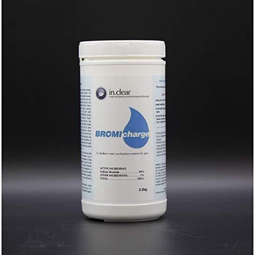 Wellis in.Clear Bromicharge Salz 2,2 Kg Bromsalz für Whirlpools mit Gecko in.Clear Wasserdesinfektionsanlage