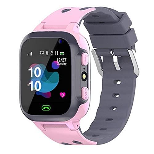 Smart Kids Montre-bracelet étanche Q16 de jeu Smartwatch Emplacement Tracker avec SOS Alarm Clock Camera pour Garçons Filles Rose, les appareils électroniques portables montre intelligente