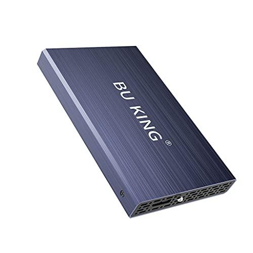 BU KING USB 3.0 Disco Duro Externo 1T HD Disco Duro 2.5'Dispositivo de Almacenamiento Externo Unidad Flash PS4 TV Púrpura