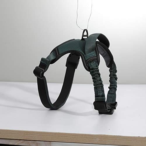 rabbitgoo No Pull Hundegeschirr reflektierend Dog Harness, atmungsaktives leichtes Laufgeschirr Anti Zug für das Training geeignet für mittlere, große Hunde