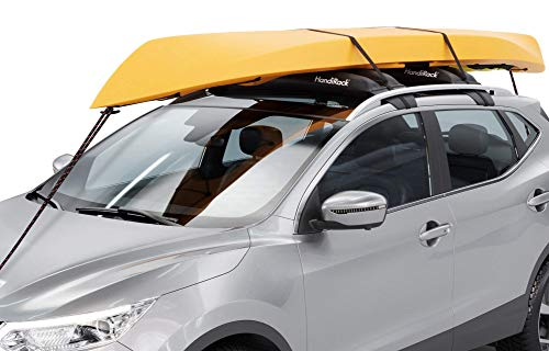 HandiRack Universal Inflatable Roof Rack Bars (Black); Tie-downs Included; Fits Most Cars and SUVs
