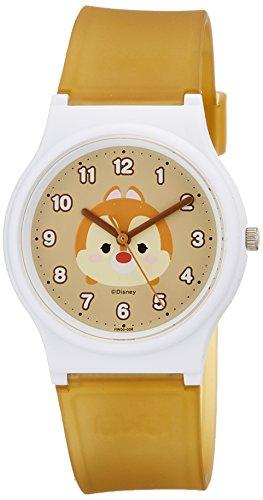 [シチズン Q&Q] 腕時計 ディズニー コレクション TSUMTSUM デール HW00-006 ガールズ ブラウン