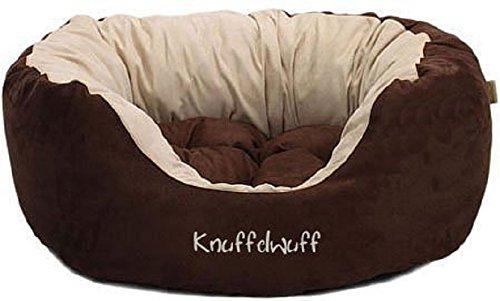Knuffelwuff 12664 Hundebett Dooly – Größe L, 80 x 75 cm sehr weich gepolstert - 2