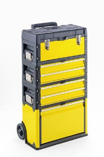 Werkzeugtrolley, 4-fach 1k.2.2.1 gelb