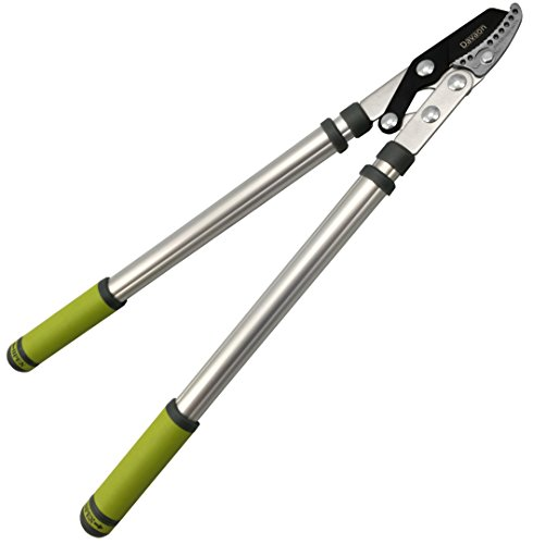 Davaon Pro Telescopic Tree Pruners - Extendable Anvil Loppers with Lightweight Handle and Premium SK5 Blades - Heavy-Duty Tree Cutter for an Enhanced Pruning and Trimming Experience