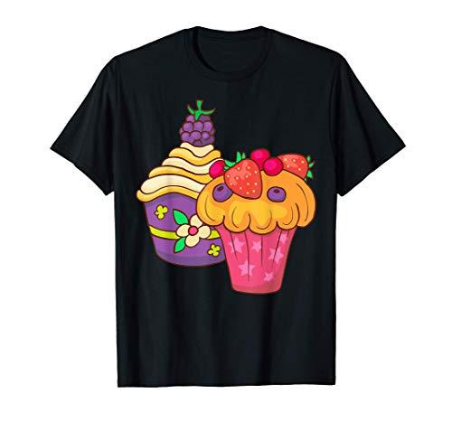 Cupcake Para hornear Panadero Panadería Pastel Camiseta