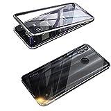 Funda para Huawei P Smart 2019, Adsorción Magnética Cubierta Vidrio...