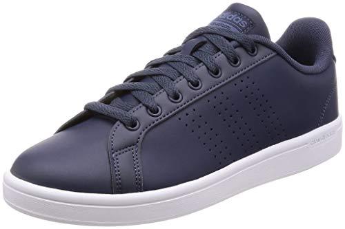 adidas Cloudfoam Advantage Clean, Zapatillas de Tenis Hombre, Azul (Trablu/Trablu/Tecink Trablu/Trablu/Tecink), 47 1/3 EU